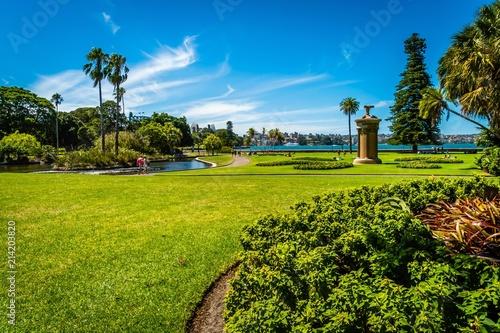 Αφίσα  Botanic garden of Sydney, Australia, in the summer