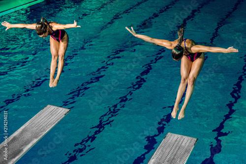 Female divers