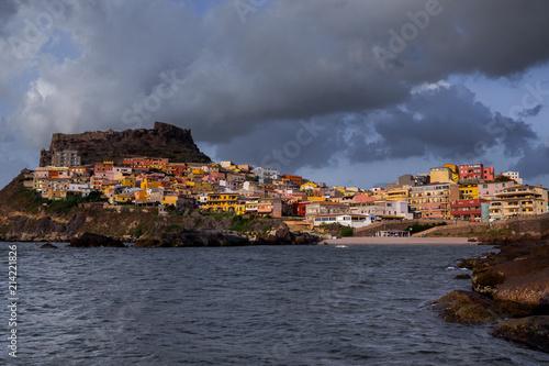 Staande foto Athene Medieval town of Castelsardo on Sardinia, Italy
