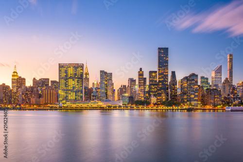 New York City East River Skyline Fototapeta