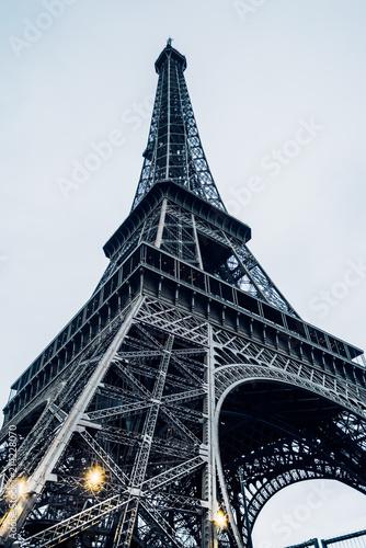 Deurstickers Eiffeltoren Eiffel tower in Paris