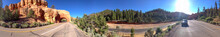 Panoramic View Of Bryce Canyon National Park Entrance, Utah