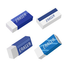 Eraser Vector Collection Design