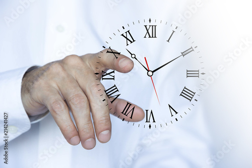 mano, dito, tempo, orologio, orologi фототапет