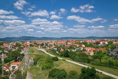Fototapeta View over Veszprem town, Hungary obraz na płótnie