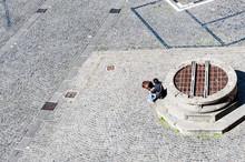 Piazza Del Popolo, Orvieto, Um...