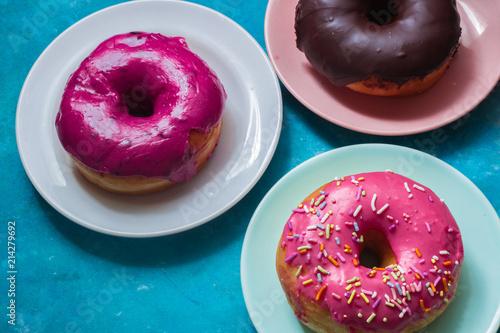 Photo  Assorted Doughnuts