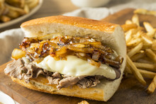 Homemade Beef French Dip Sandwich