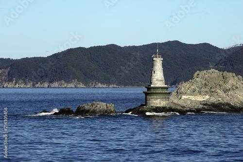 Foto op Aluminium Vuurtoren lighthouse Maritime dangerous rocky Cape