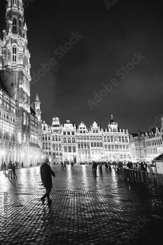 Foto op Canvas Brussel Brussels Grand Place