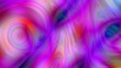 canvas print picture - abstract loops