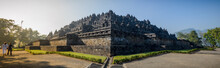 Borobudur Temple And Bell-ensh...