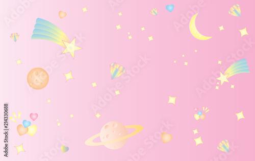 wzor-gwiazda-przestrzen-slodkie-slodkie-pastelowe-rozowe-tlo
