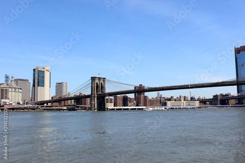 Blick auf die Brooklyn Bridge New York