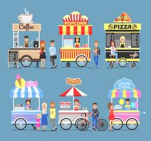 Tasty Street Food Snacks From ...