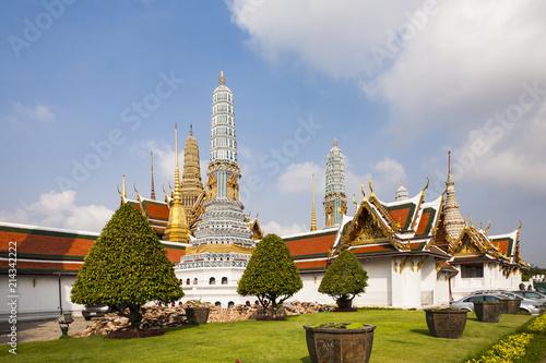 Deurstickers Bedehuis famous Prangs in the Grand Palace in Bangkok