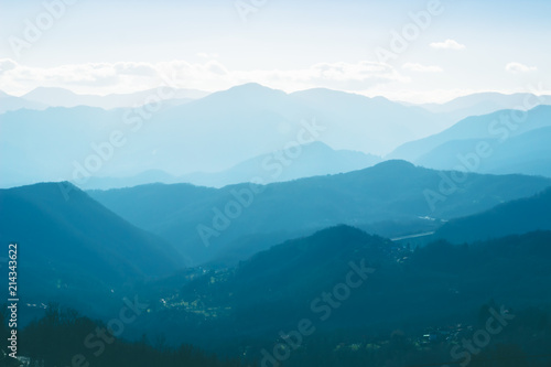 Photo Landscape of Apennine mountains, Italy