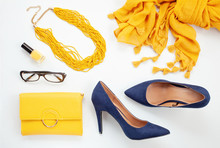 Bright Yellow Accessories And ...