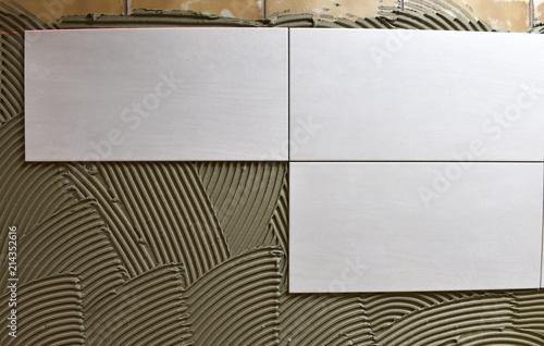 Wandfliesen anbringen Wallpaper Mural
