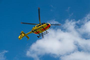 Fototapeta Rettungshubschrauber startet (SAR)