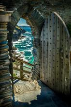 Das Tor Nach Tintagel Castle