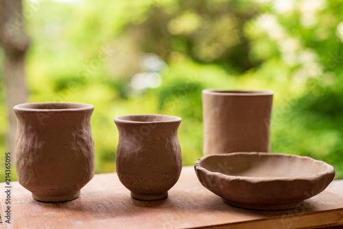 Cuadros en Lienzo 父母と陶芸へ