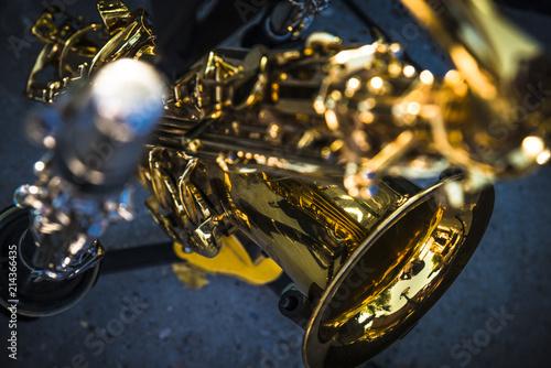 Fotografie, Obraz  saxophone