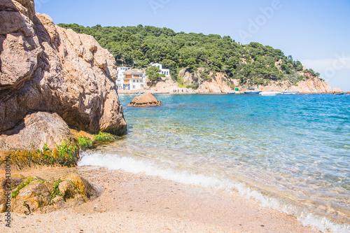 Fototapety, obrazy: Sea coast near Begur, Costa Brava, Spain