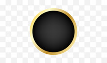 Black And Gold Circle Design P...