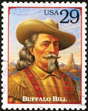 Buffalo Bill On American Postage Stamp
