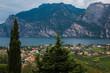 Veduta aerea di Riva del Garda sul Lago di Garda