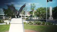 Eagle Statue In Monument Park ...