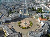 Fototapeta Miasto - Łódź, Polska- widok na Plac Wolności
