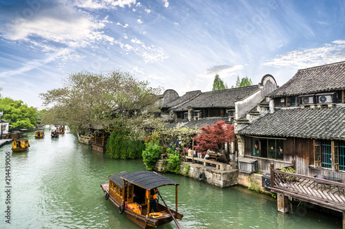 landscape of wuzhen in china
