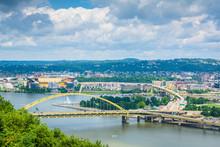 Fort Pitt Bridge, In Pittsburgh, Pennsylvania