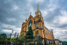 St. Mary Of The Mount Church, On Mount Washington, In Pittsburgh, Pennsylvania.