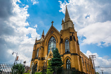 St. Mary Of The Mount Church, On Mount Washington, In Pittsburgh, Pennsylvania