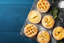 Delicious Mini Apple Pies On B...
