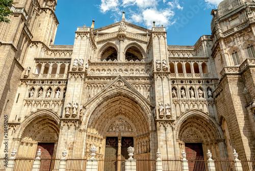 Puerta del perdon catedral de toledo