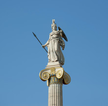 Goddess Athena Statue On The C...