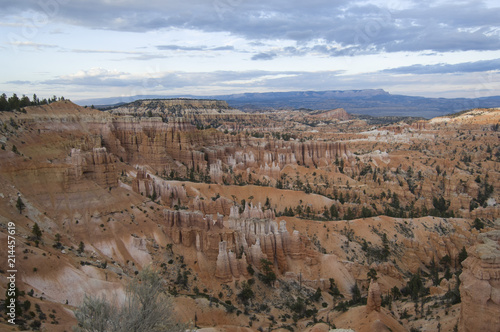 Awe-inspiring rock formations in Bryce Canyon National Park