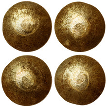 Set Of Golden Or Bronze Rivet ...