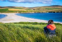 Shetland Islands - Tombolo - S...