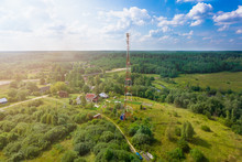 Telecommunication Tower With  ...