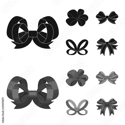 Ornamentals, frippery, finery and other web icon in black,monochrom style Fototapet