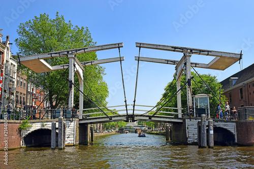 Fototapeta Amsterdam amsterdam-widok-na-port