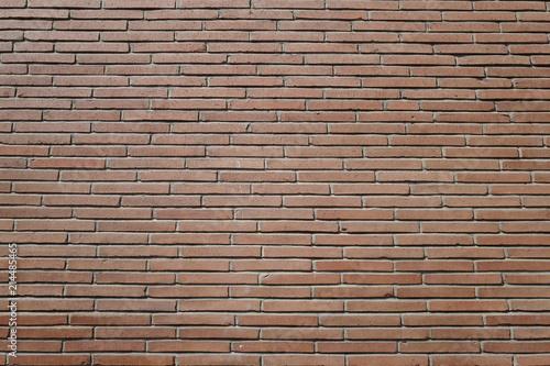 Poster Brick wall des briques