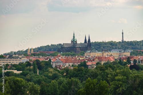 Staande foto Praag Prague Castle and St. Vitus Cathedral