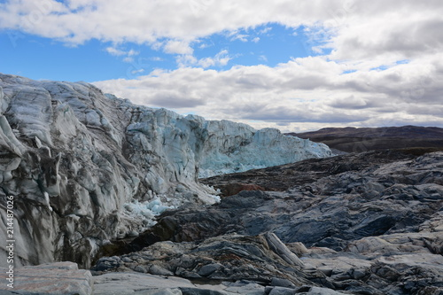 Deurstickers Poolcirkel Glacier in Greenland