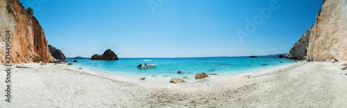 Fotobehang Oceanië Beautiful panoramic view of Kefalonia island, Greece